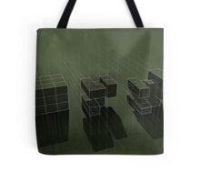 Cubic Progression Tote Bag