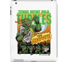 Ninja Turtles Retro First Movie 1990 Mikey iPad Case/Skin
