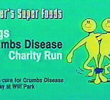 CRUMBS DISEASE Dr. Steve Brule Design by SmashBam by SmashBam