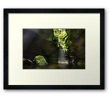 Grand Canyon, Blue Mountains, Australia Framed Print
