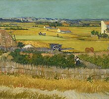 Vincent van Gogh - De oogst - 1888 by forthwith