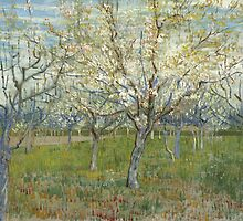 Vincent van Gogh - De roze boomgaard (The Pink Orchard) - 1888 by forthwith