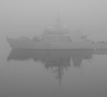 HMCS GLACE BAY by Sandy  McClearn