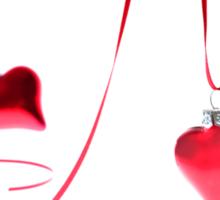 Ribbon of Hearts Sticker