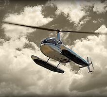 Robinson R44 by Peter Redmond