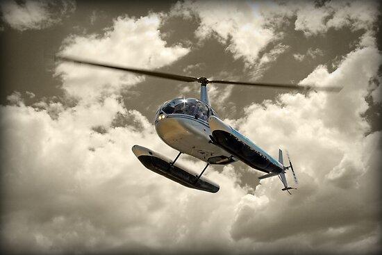 Robinson R44 by Peter Redmond