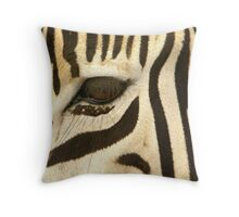 Lux Lashes Throw Pillow