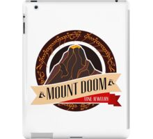 Mt. Doom Fine Jewelry iPad Case/Skin