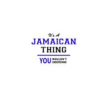 It's a JAMAICAN thing, you wouldn't understand !! by thenamer