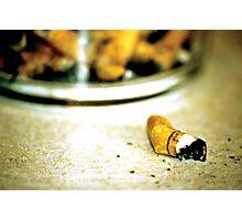 bad habit Photographic Print