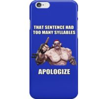 Mr.Torgue Quote iPhone Case/Skin