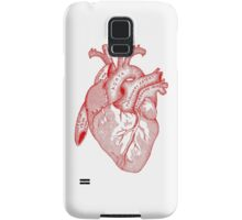 Study of the Heart [red] Samsung Galaxy Case/Skin