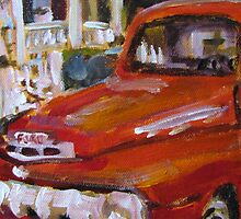 An Old Ford by Susan E Jones