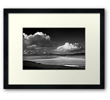 Scarista, Isle of Harris, Outer Hebrides Framed Print