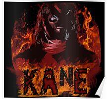 kane - hellfire & brimstone Poster