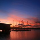Long Jetty Sunset by Chris Wheat