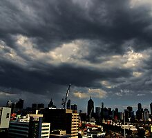 Stormclouds over Melbourne by Ashley Ng
