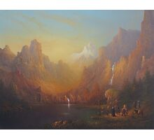 The Fellowship Of The Ring Moria Photographic Print