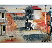 Rush-hour in the outback Photographic Print