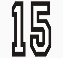 TEAM SPORTS, NUMBER 15, FIFTEEN, FIFTEENTH, Competition,  by TOM HILL - Designer