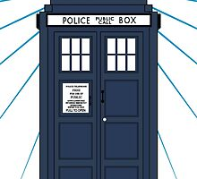 Tardis with white background by sim75