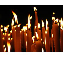 Candles © Photographic Print