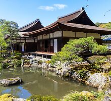 Temple of the Silver Pavilion, Japan  by PhotoStock-Isra
