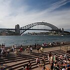Harbour Bridge and Opera Bar by Daniel Chanisheff