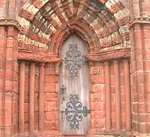 St Magnus' Cathedral Door by John Nelson