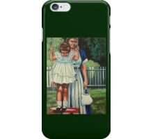 My Favorite Place #5, The Red Swing iPhone Case/Skin