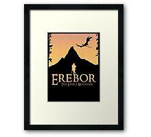 Erebor - The Lonely Mountain (The Hobbit) Framed Print
