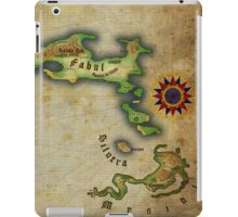 Arcaron old map iPad Case/Skin