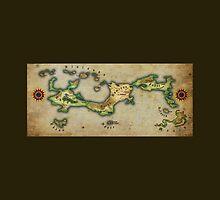 Arcaron old map by Arcaron Merchandising