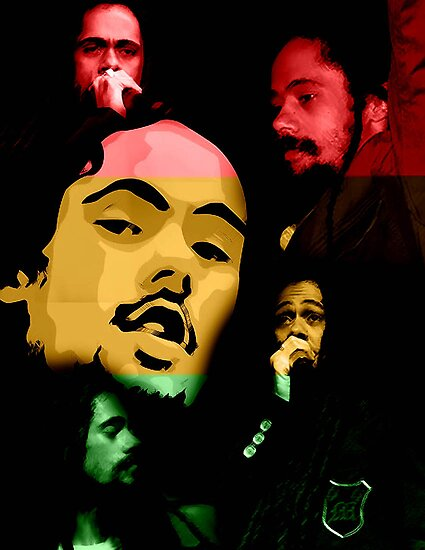Damian Marley by Athina Monclus