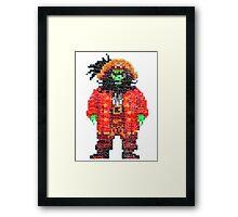 Monkey Island Lechuck T-shirt Framed Print
