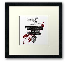 Moriar-Tea Framed Print