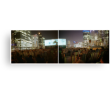 rooftop cinema Canvas Print