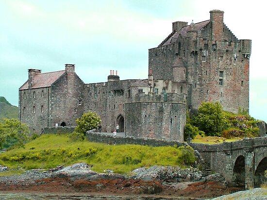 Eilean Donan Castle II by Tom Gomez