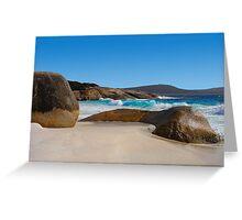 Little Beach,near Albany,Western Australia.6868 views Greeting Card