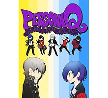 Persona Q Poster Photographic Print