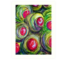 Olives in a Jar Art Print
