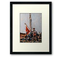 Veterans Day Framed Print