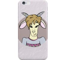 Symbol of New 2015 Year - goat iPhone Case/Skin