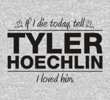 Tyler Hoechlin - If I Die Series (Variant) by huckblade
