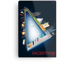 Inception Timeline Metal Print