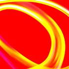 Red & Yellow Swirl by Perspective