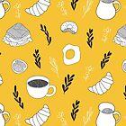 Yellow breakfast by Rin Rin