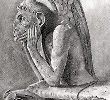Notre Dame Gargoyle 1 by RainbowDesign