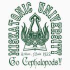 Miskatonic Cephalopods by wuxter