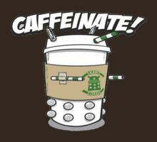 Caffeinate by tyroneredbubble